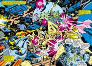 Skrull-Xandar War from Fantastic Four Vol 1 205 001