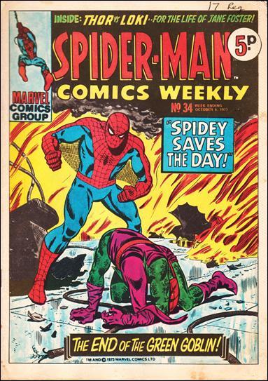 Spider-Man Comics Weekly Vol 1 34
