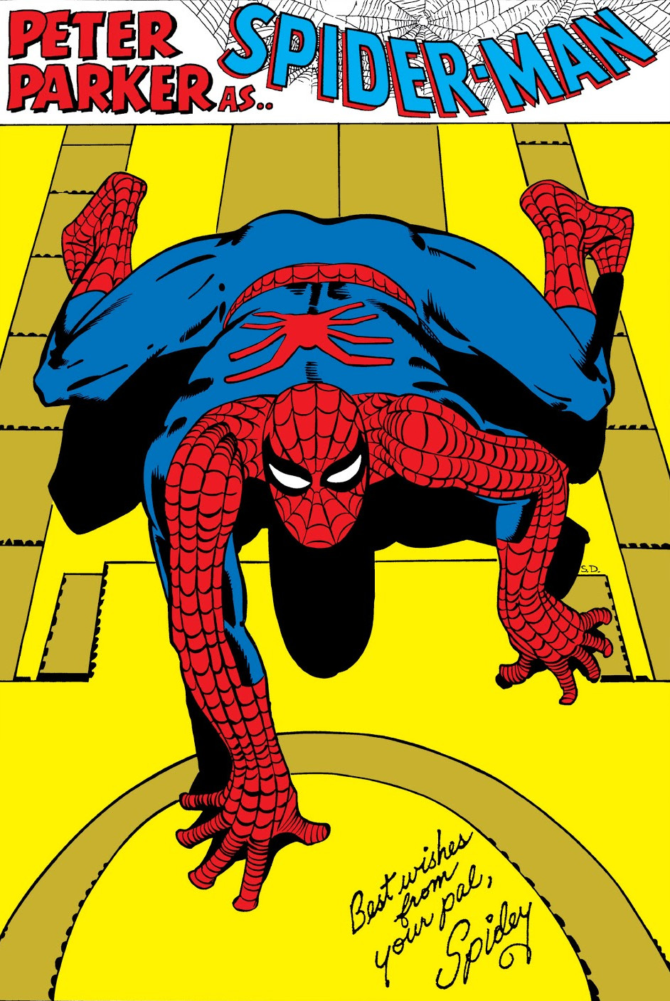 Spider-Man Pin-Up from Amazing Spider-Man Annual Vol 1 1.jpg