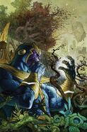 Thanos Rising Vol 1 4 Textless