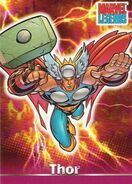 Thor Odinson (Earth-616) from Marvel Legends (Trading Cards) 0001