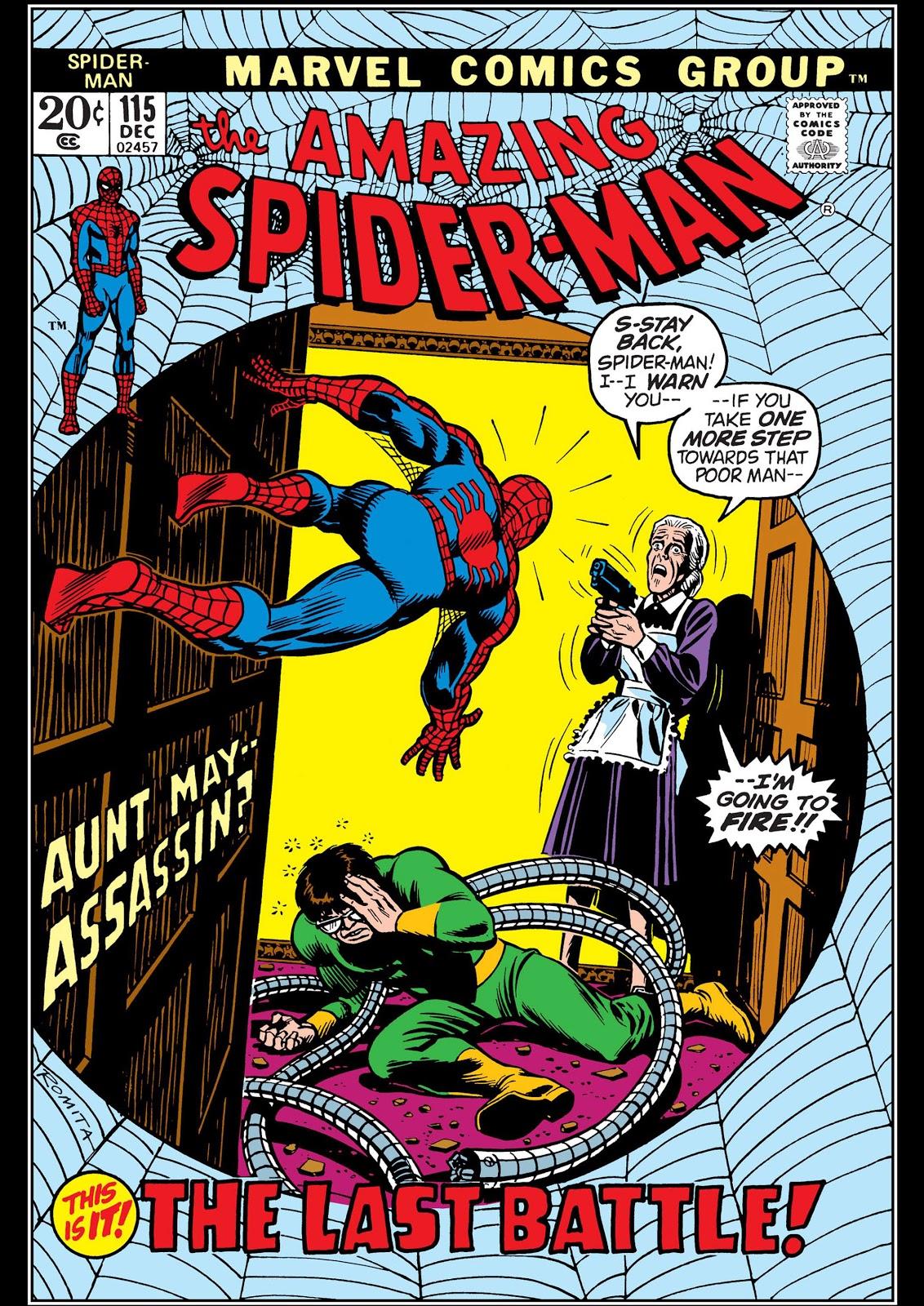 Amazing Spider-Man Vol 1 115