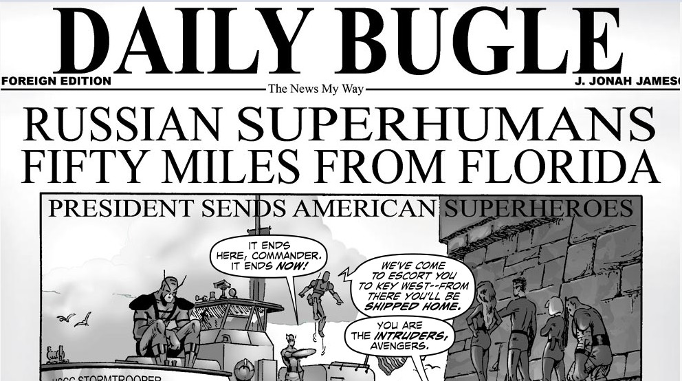 Daily Bugle (Earth-717)/Gallery