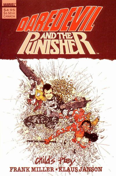 Daredevil and the Punisher Child's Play Vol 1