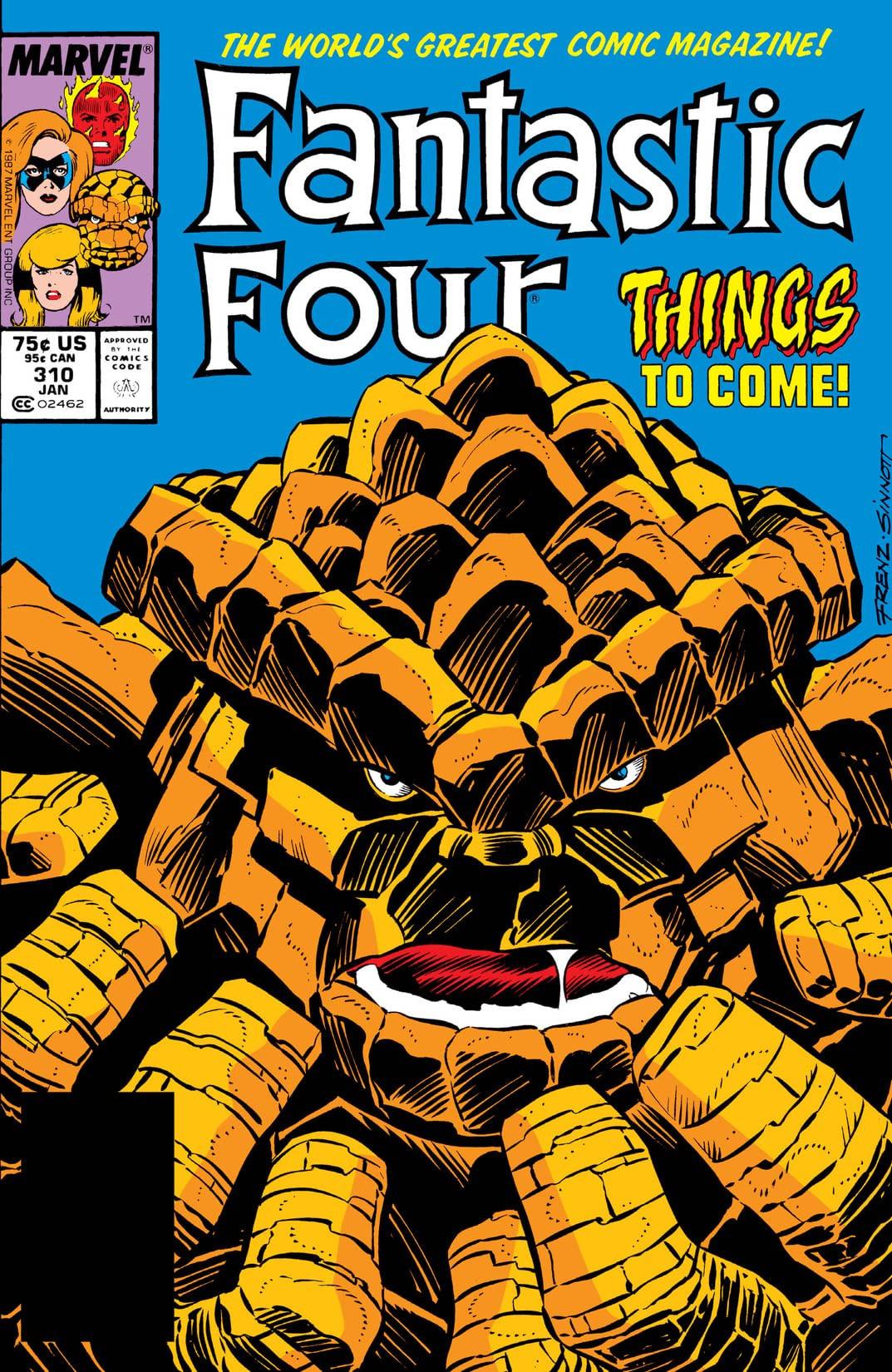 Fantastic Four Vol 1 310