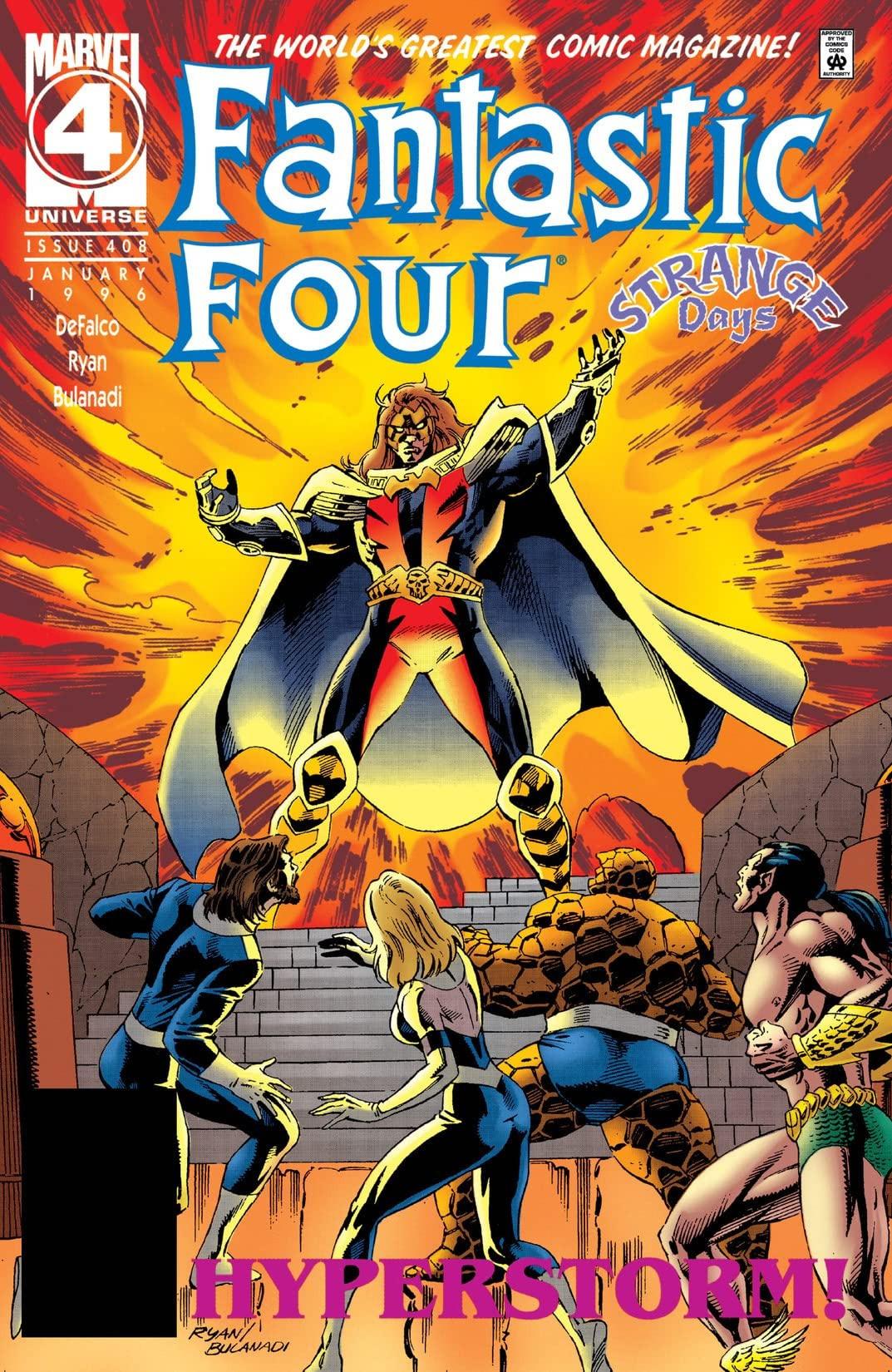Fantastic Four Vol 1 408