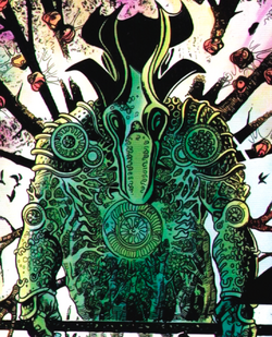 Green Knight from Knights of Pendragon Vol 1 6 001.png