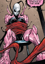 Hive (Poisons) (Earth-17952) Members-Poison Gwenpool from Venomverse Vol 1 4 001.png