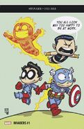 Invaders Vol 3 1 Young Variant