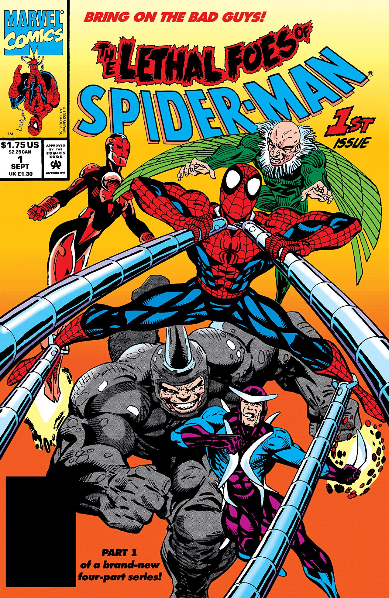 Lethal Foes of Spider-Man Vol 1 1