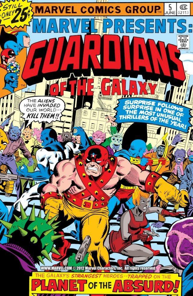 Marvel Presents Vol 1 5