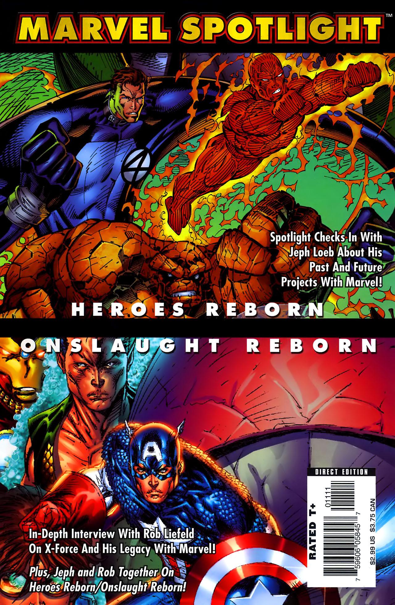 Marvel Spotlight: Heroes Reborn/Onslaught Reborn Vol 1 1