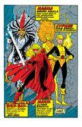 New Mutants Annual Vol 1 5 Pinup 2