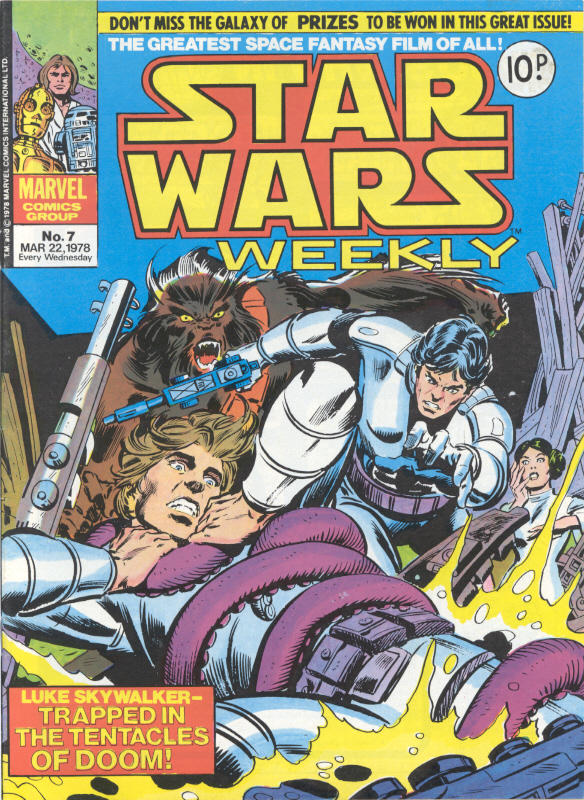 Star Wars Weekly (UK) Vol 1 7
