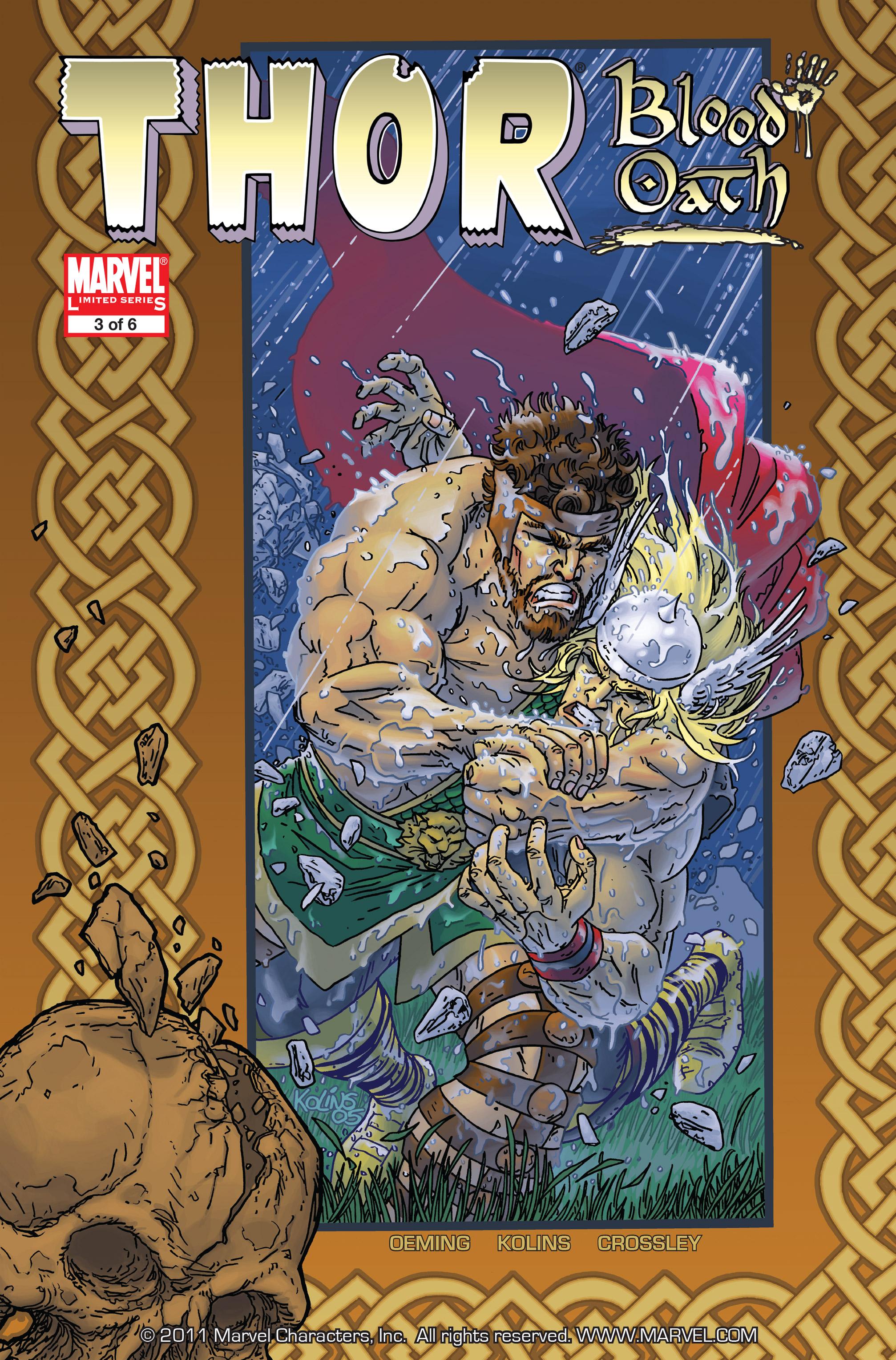 Thor: Blood Oath Vol 1 3