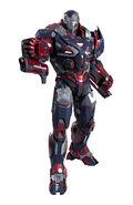 War Machine Armor MK V (Earth-199999)