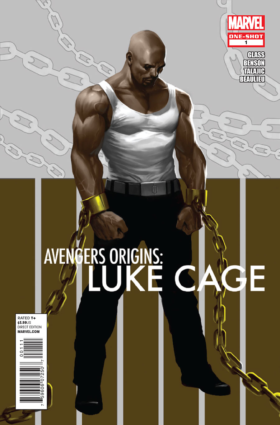 Avengers Origins: Luke Cage Vol 1 1