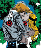 Crystalia Amaquelin (Earth-616) and the Black Knight give into their passions from Avengers Vol 1 361