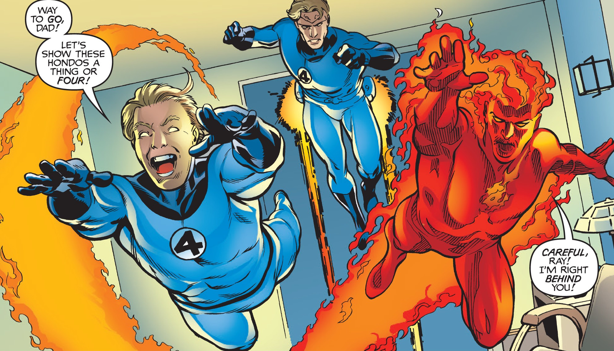 Fantastic Four (Earth-98)/Gallery