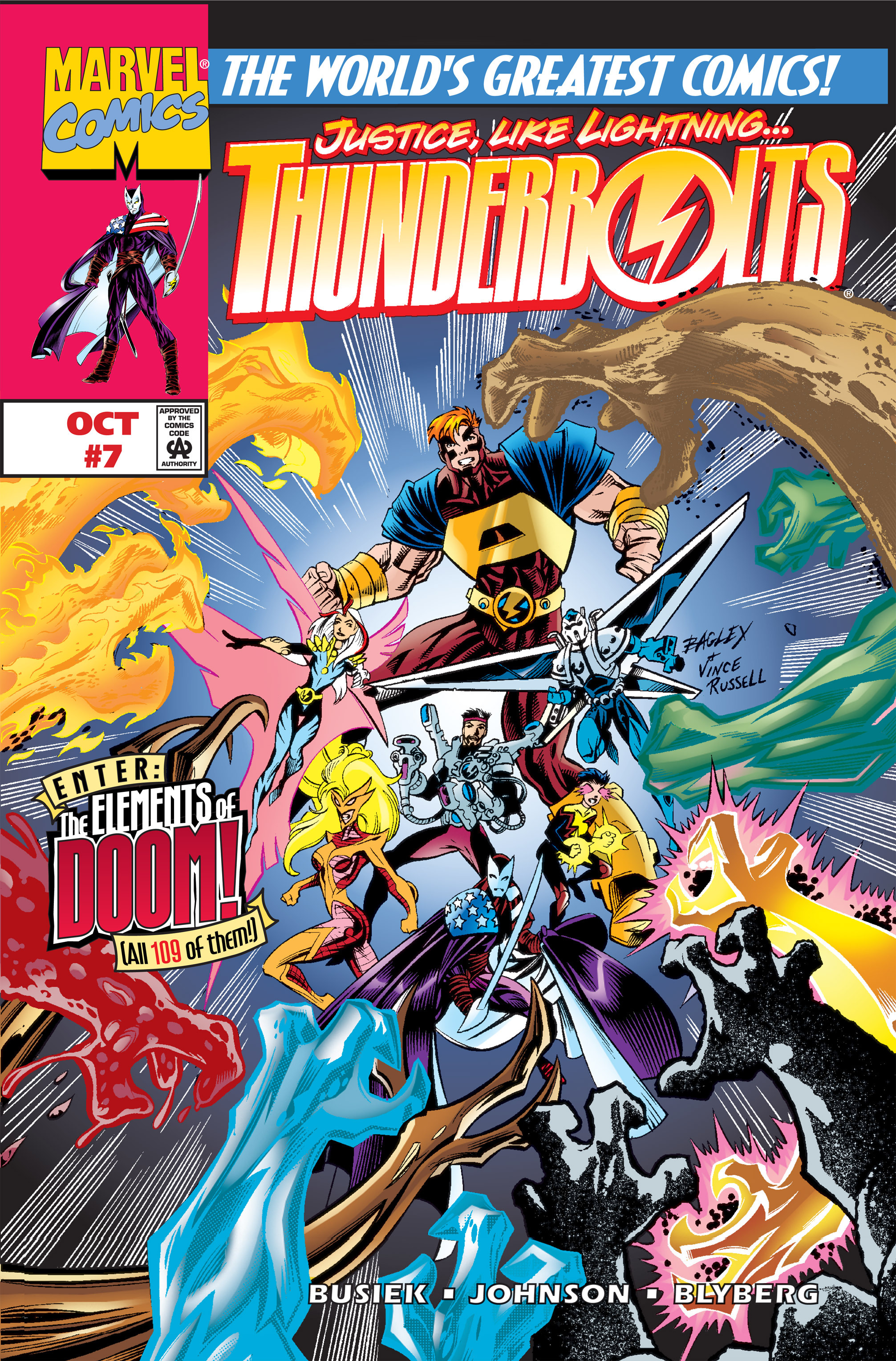 Thunderbolts Vol 1 7
