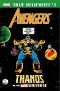 True Believers Avengers - Thanos vs. the Marvel Universe Vol 1 1