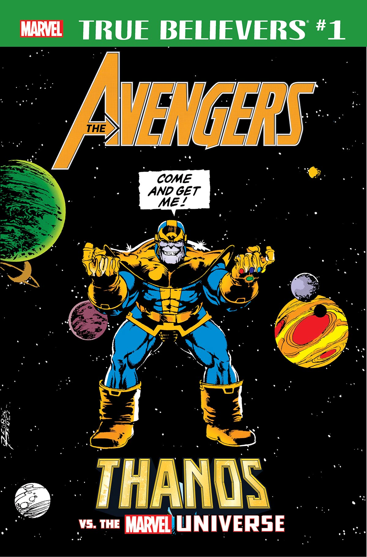 True Believers: Avengers - Thanos vs. the Marvel Universe Vol 1 1