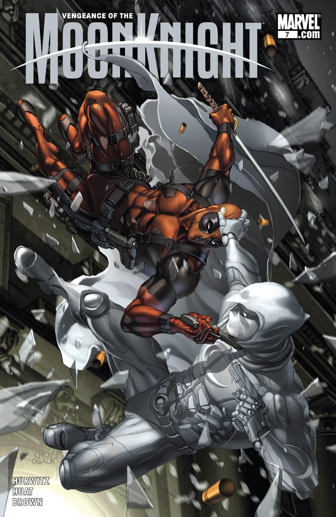 Vengeance of the Moon Knight Vol 1 7