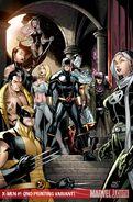 X-Men Vol 3 1 Textless 2nd Printing Variant