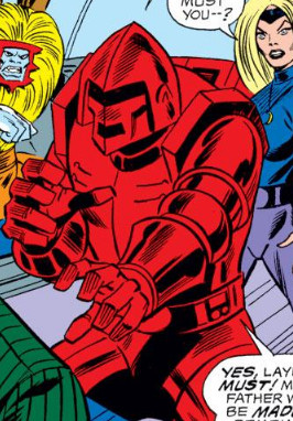 Crimson Dynamo Armor Mark III