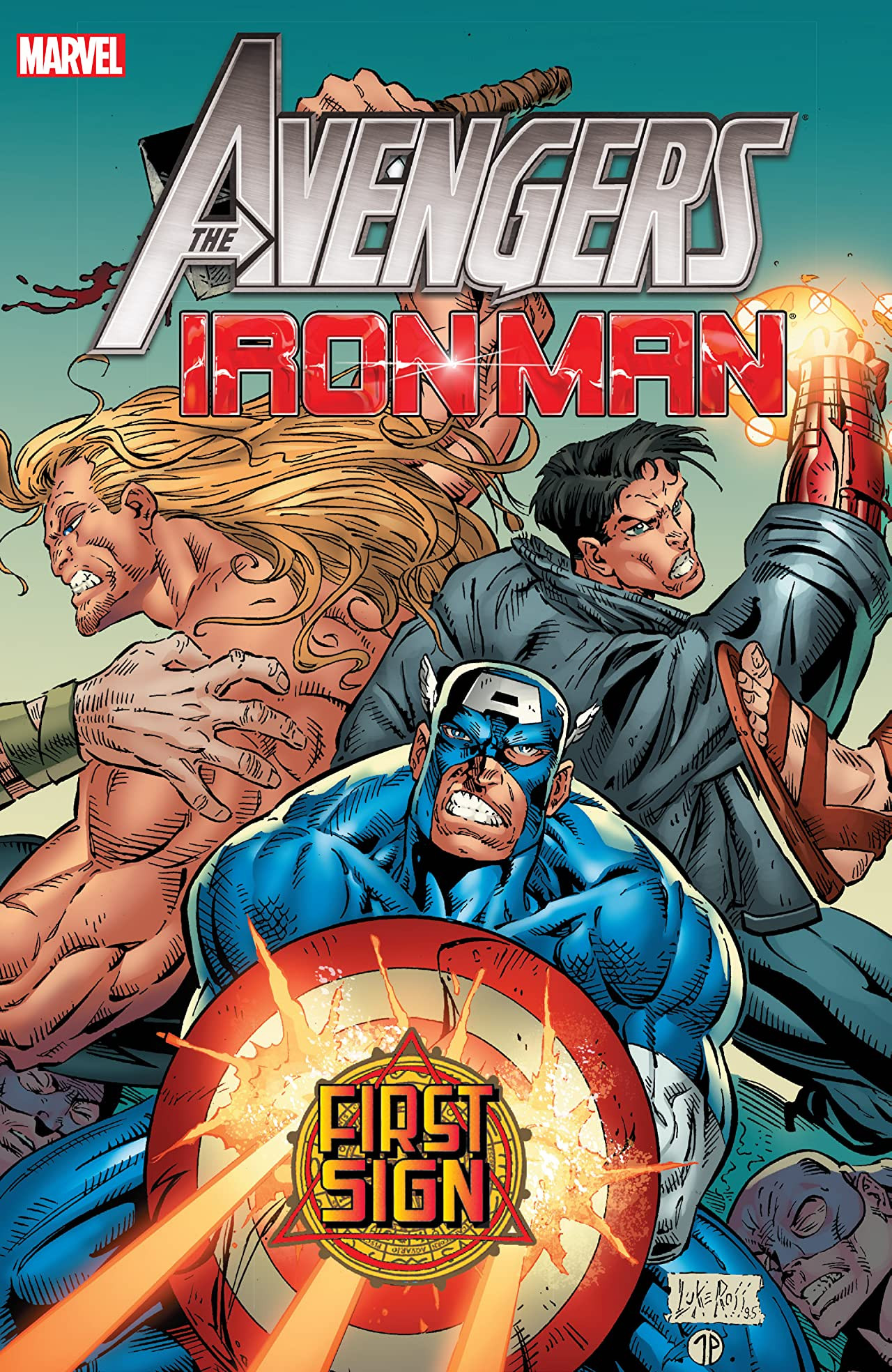 Avengers/Iron Man: First Sign TPB Vol 1