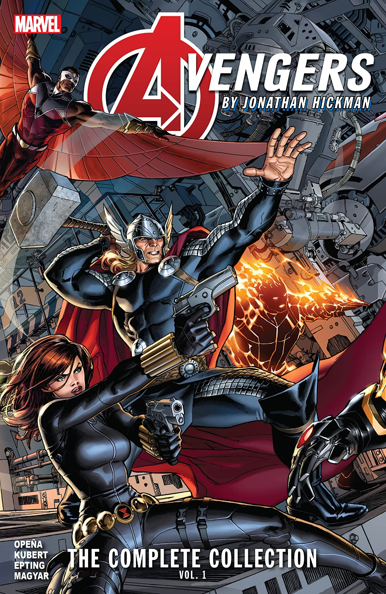 Avengers by Jonathan Hickman: The Complete Collection Vol 1 1