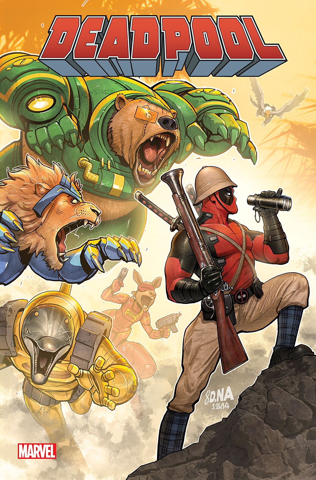 Deadpool Classic Vol 1 19