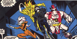 Force Four (Earth-616)