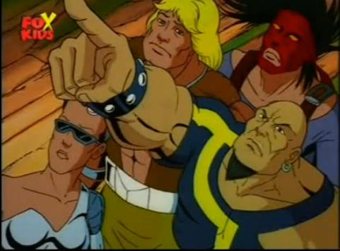 Frank Oliver (Earth-92131), Michael Baer (Earth-92131), and Philippa Sontag (Earth-92131) from X-Men The Animated Series Season 4 6 001.jpg