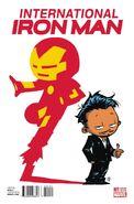 International Iron Man Vol 1 1 Young Variant