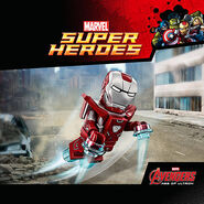 Iron Man Armor MK XXXIII (Earth-199999) from LEGO Marvel's Avengers 001
