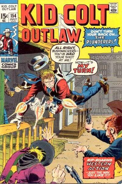Kid Colt Outlaw Vol 1 154