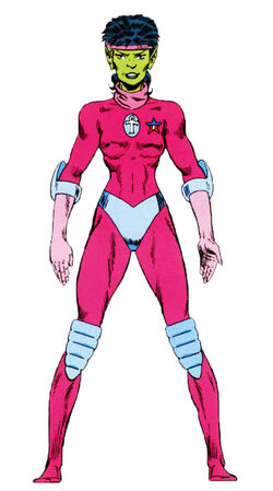 Replica (Earth-691) from Official Handbook of the Marvel Universe Master Edition Vol 1 34 0001.jpg
