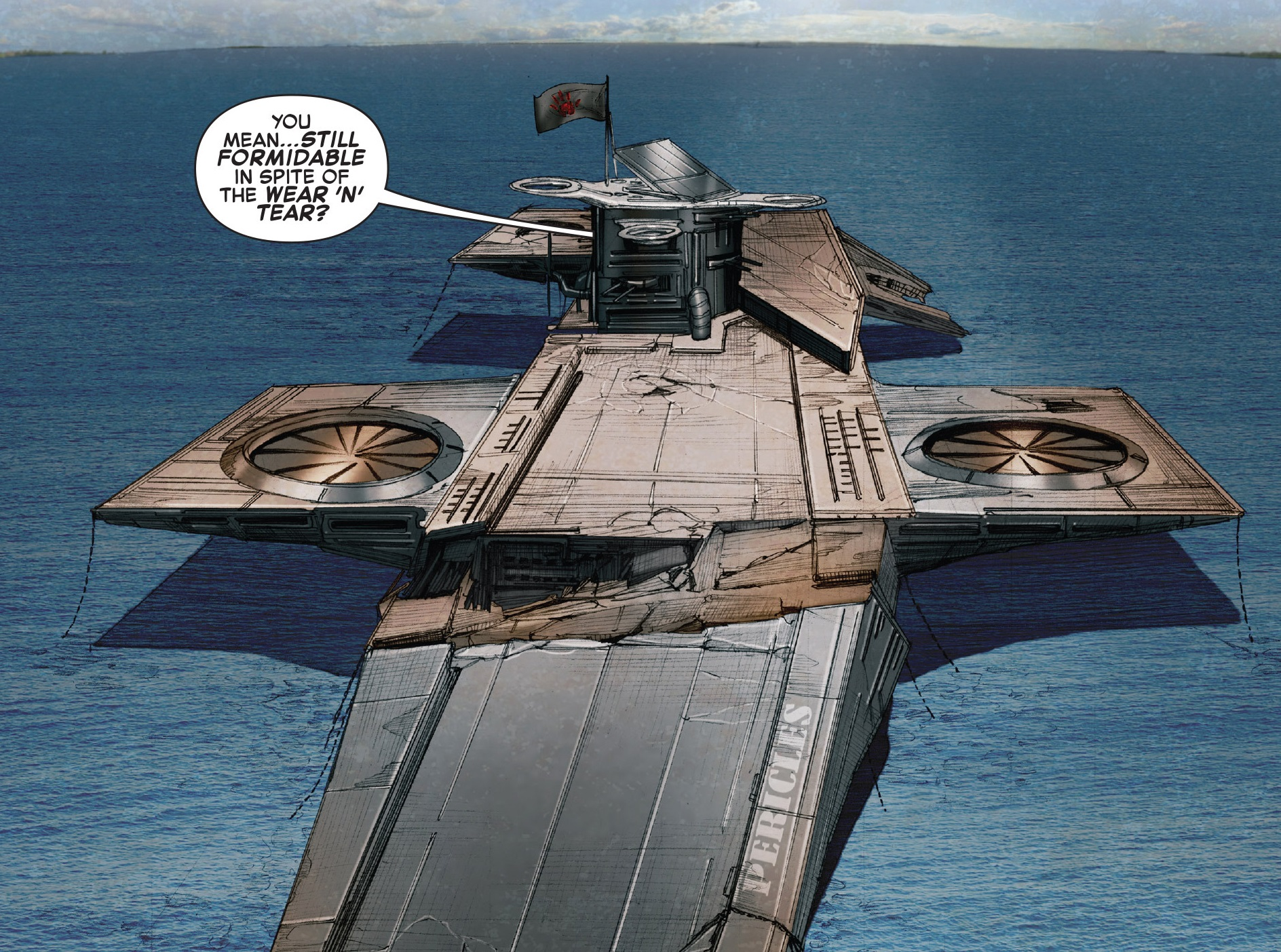 S.H.I.E.L.D. Helicarrier Pericles