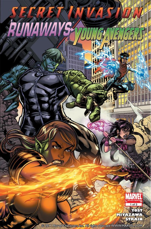Secret Invasion: Runaways/Young Avengers Vol 1