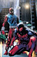Sergei Kravinoff (Earth-616) and Peter Parker (Kaine) (Earth-616) 001