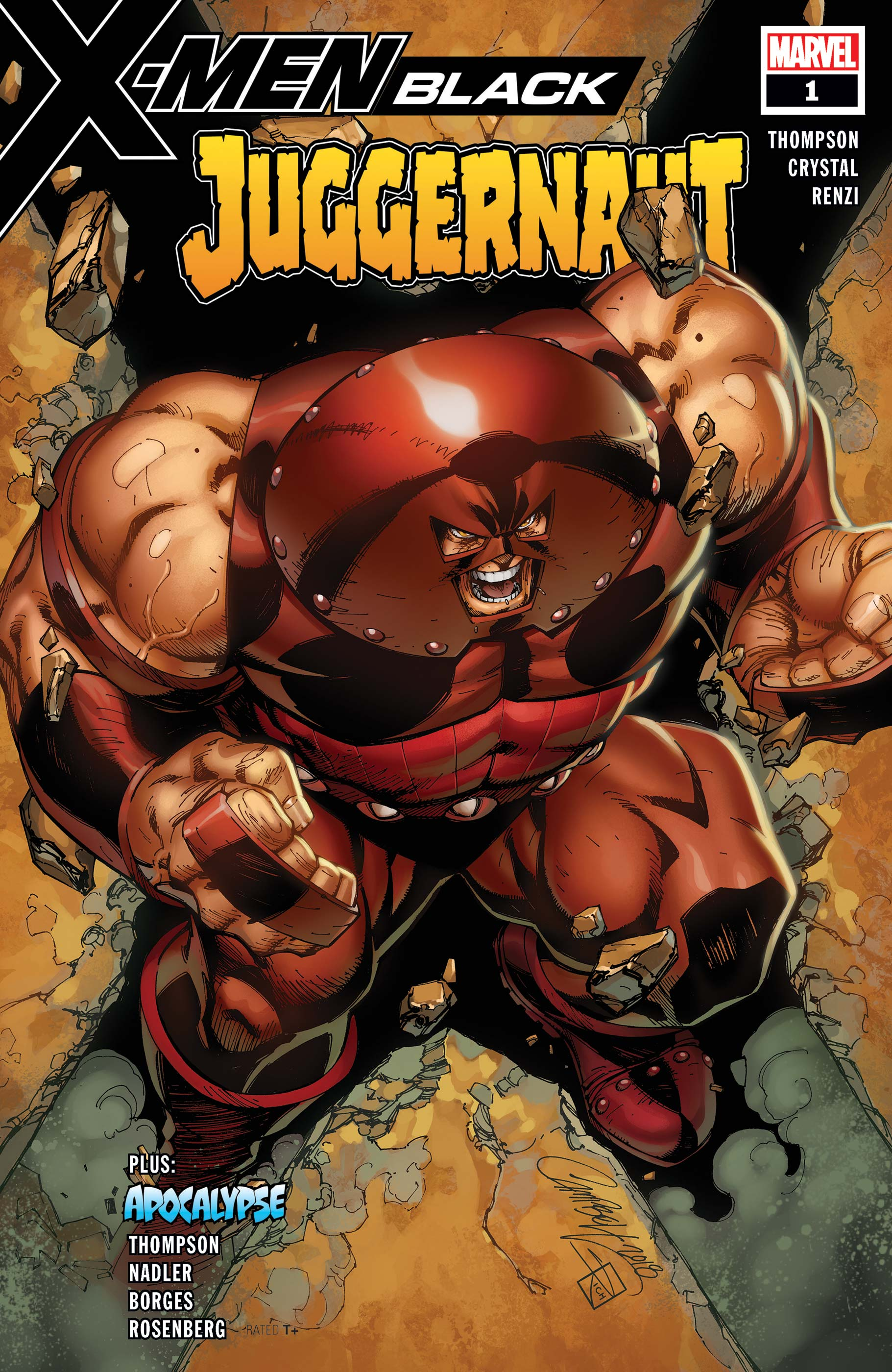 X-Men: Black - Juggernaut Vol 1 1