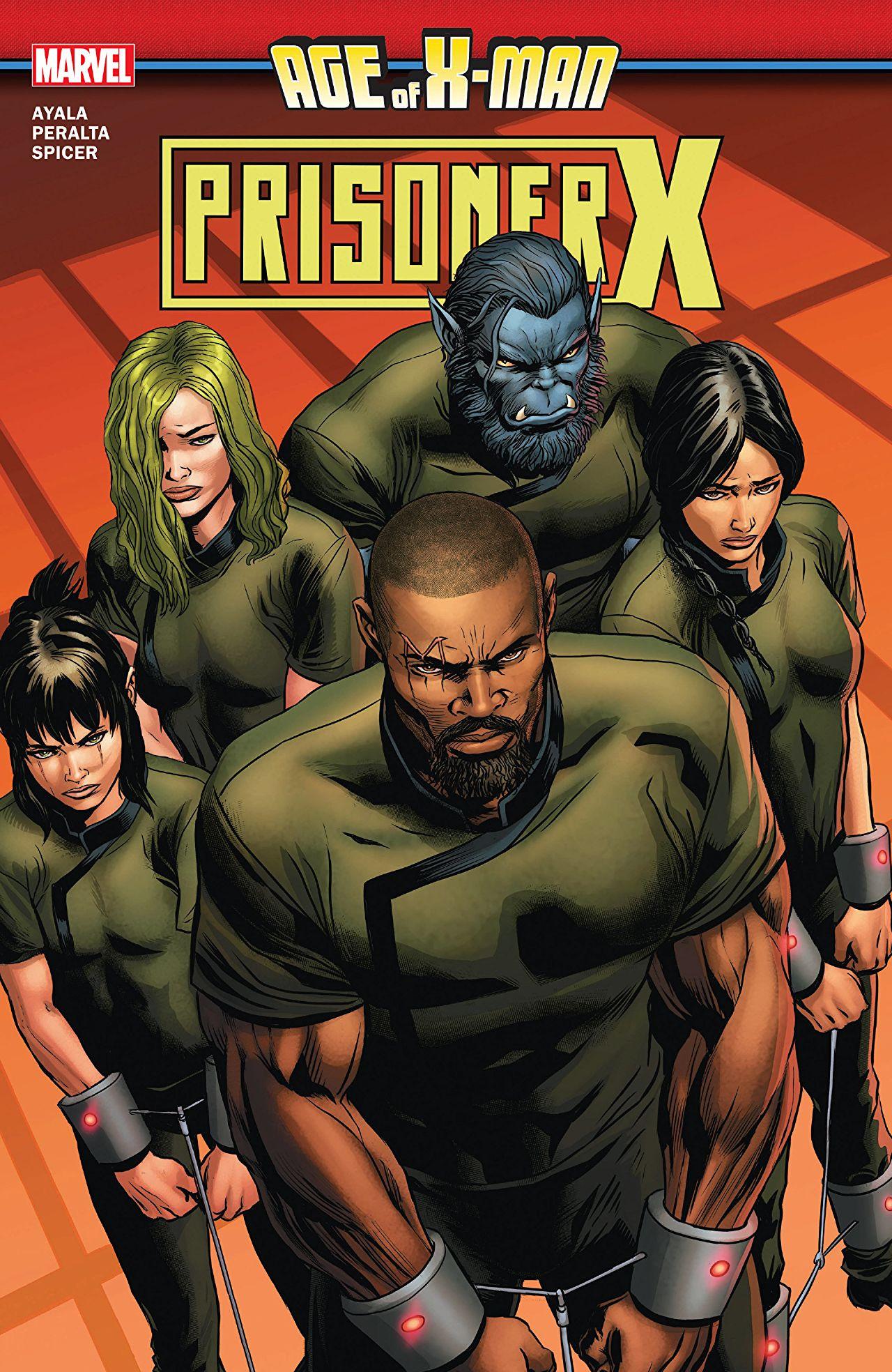 Age of X-Man: Prisoner X TPB Vol 1 1