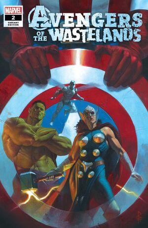 Avengers of the Wastelands Vol 1 2 Federici Variant.jpg