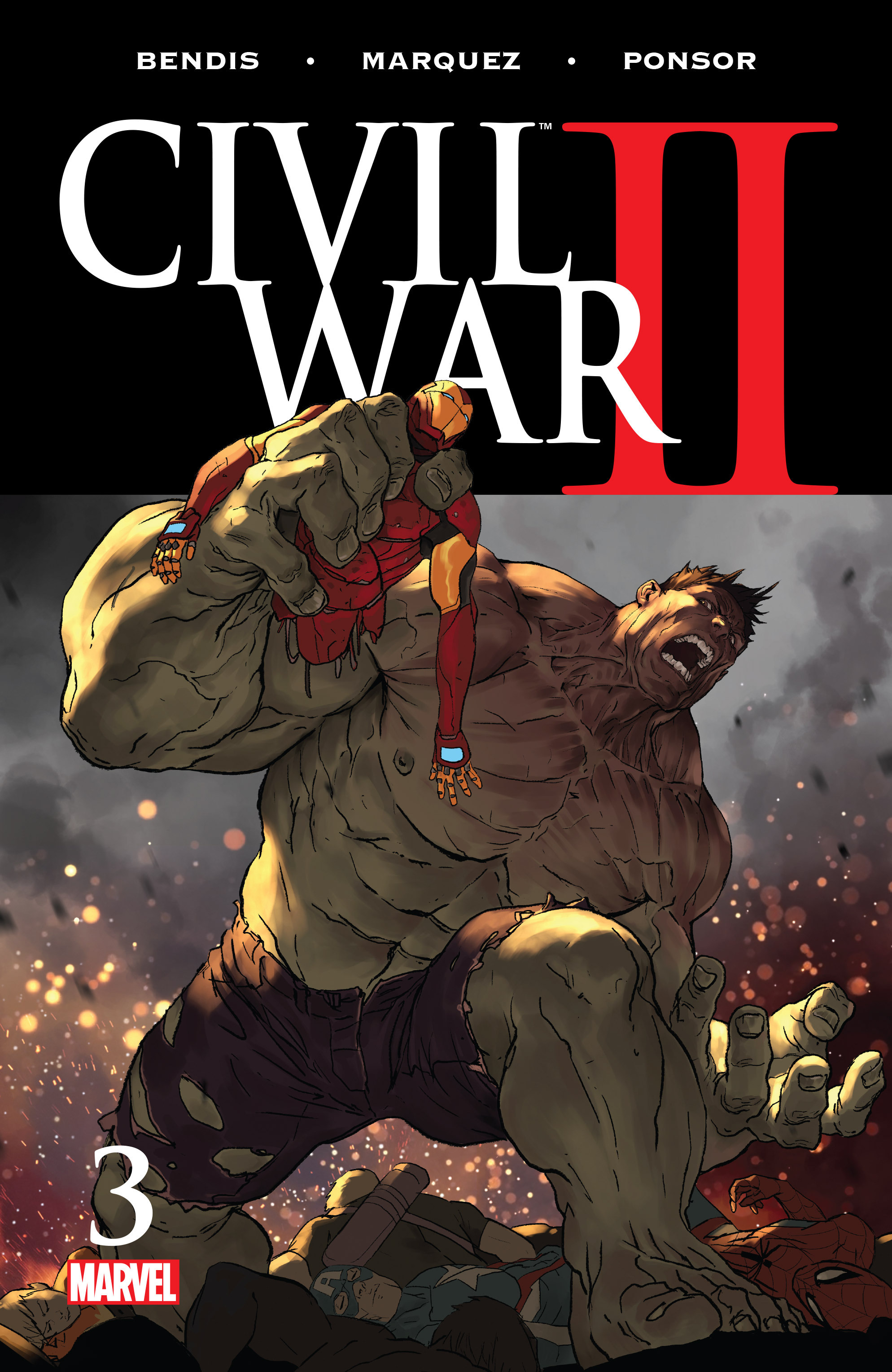 Civil War II Vol 1 3