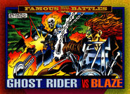 Daniel Ketch (Earth-616) and Johathan Blaze (Earth-616) from Marvel Universe Cards Series IV 0001