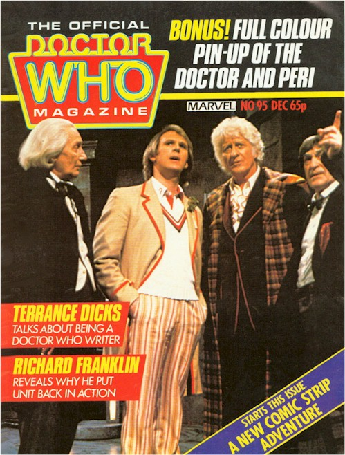 Doctor Who Magazine Vol 1 95