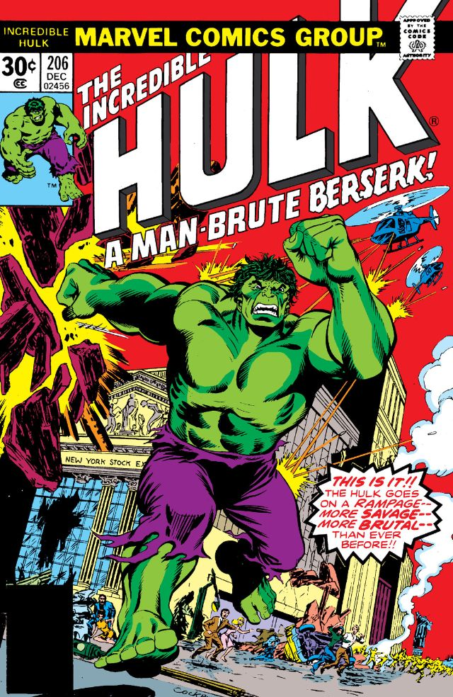 Incredible Hulk Vol 1 206