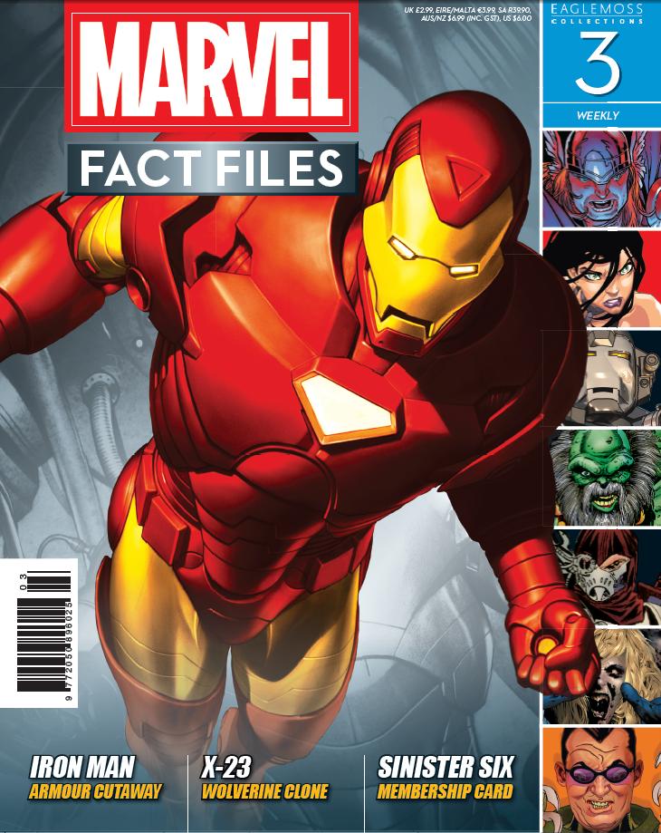 Marvel Fact Files Vol 1 3