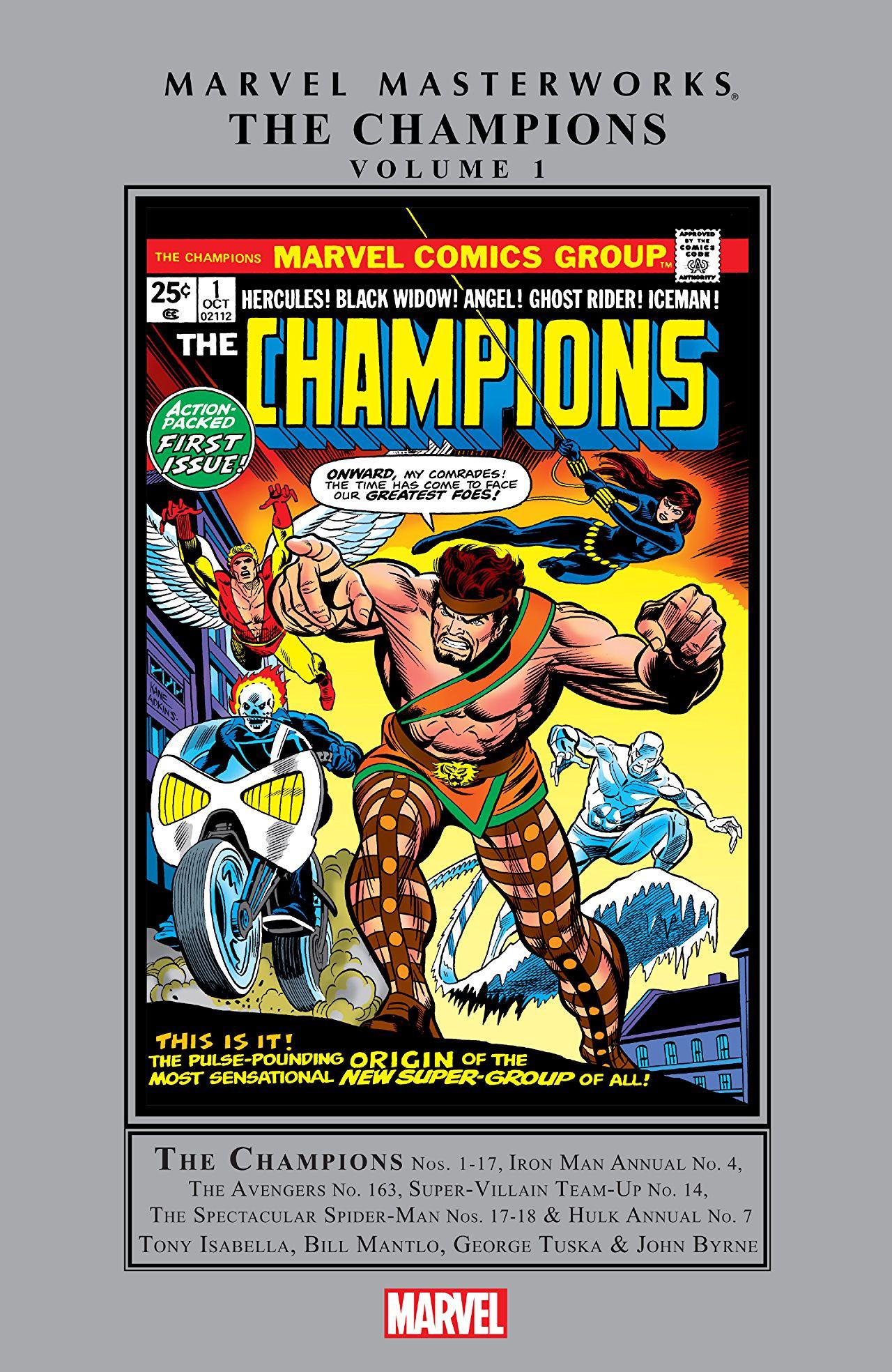 Marvel Masterworks: Champions Vol 1 1